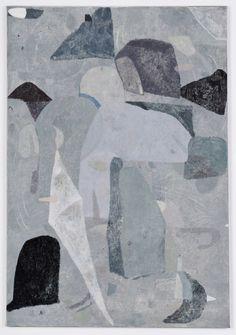 "Clare Grill Flukes, 2014, oil on linen, 44"" x 29"""