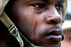 Freedom isn't free. Real men cry