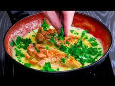 30 perc alatt kész a legfinomabb csirke citromszósszal. Minden egy serpenyőben!Cookrate-Magyarország - YouTube How To Cook Chicken, Thai Red Curry, Carne, Cooking, Ethnic Recipes, Voici, Casserole, Lemon Sauce, Entrees