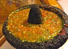 Salsa de Chile Serrano con Xoconostle