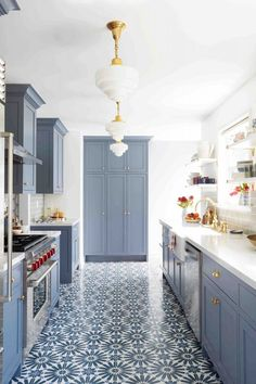 Kitchen Crush: All Shades of Blue
