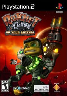 Rachet and Clank: Up Your Arsenal for Playstation 2. I just recently bought this game and it's pretty fun.