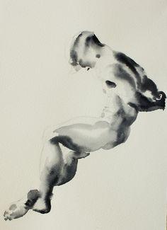 "Jordan Mejias 2012 ""RWL10"" an interesting twist on figure drawing"