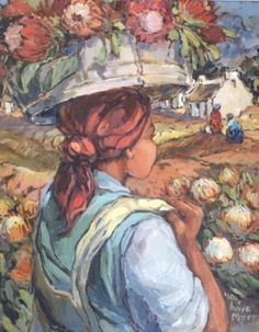 Image result for aviva maree artist Protea Art, South African Artists, Paintings I Love, Artist Painting, Acrylics, Portraits, Oil, People, Beautiful