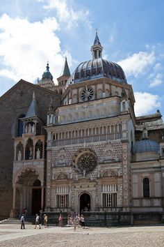 Bergamo, Italy - A romantic stroll with my husband. No maps, no itineraries. We just enjoyed the sites holding hands.