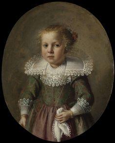 Portret van Josina Cornelisdr van Esch, mogelijk anoniem, 1632, olieverf op koper, 15,9×12,9cm | Rijksmuseum, Amsterdam