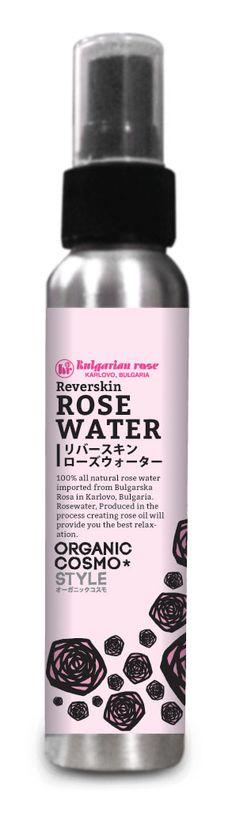 Lovely rose water as skin toner