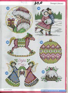 Cross Stitch *@* Christmas