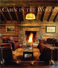 With rustic design soaring to new heights, Ralph Kylloe again sets out on a journey of exploration and seeks out original awe-inspiring rustic homes in his newest book, Cabin in the Woods. Both functi Rustic Italian Decor, Rustic Cabin Decor, Rustic Homes, Rustic Cabins, Wooden Cabins, Prefab Cabins, Prefab Homes, Timber Homes, Log Cabin Homes