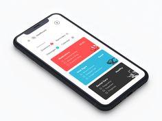 Healthcare iOS App UX/UI.