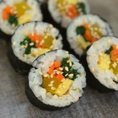 How To Make Gimbap: Korean Seaweed and Rice Rolls — Cooking Lessons from The Kitchn