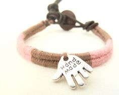 Teenage wrap bracelet by Amamelisse.    www. amameliss.fr