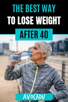 Losing weight at 20 is FAR different than after 40, especially when your metabolism is out to get you! Let's explore how to lose weight for women over 40 in just 7 steps! #avocadu #losingweight #weightloss #weightlossover40