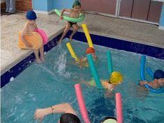 Mi Kinder: Clases de natación: ejercicios, materiales y accesorios que se utilizan