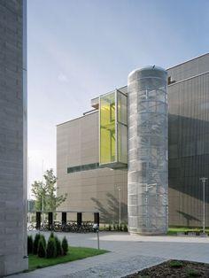 Exactum, University of Helsinki | Helsinki, Finland  | LAHDELMA & MAHLAMÄKI ARCHITECTS | photo by Jussi Tiainen