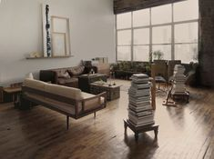 Last month, Annie shared Brooklyn-based design firm Ridge House's neo-Gothic restoration in Nebraska. Today, we're admiring another project by founders Lauren Lochry and Jeff Gillway: the couple's own Bushwick loft, a space they use as a workshop, showroom, and, of course, home base. Just as the site—its architecture, environment, location, and history—led the design on […]