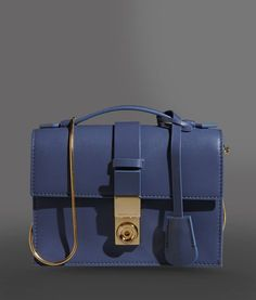 Giorgio Armani Women SHOULDER BAG IN CALFSKIN WITH GOLD DETAILS 7765acf19dffe