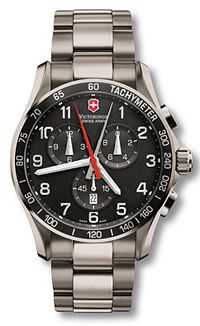 e77ad0e74a5 The Best High End Watches for Men  Victorinox Swiss Army  Men s Chrono  Classic XLS Titanium  Watch