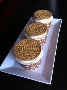Cupcakes de Versace elaborados por TheCakeProject en Madrid