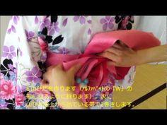 帯の結び方【マリーゴールド編】 八戸理容美容専門学校 - YouTube