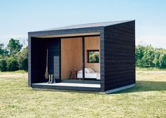 Now, for those looking to for the ultimate in cabin design, the beaufiul MUJI Huts are finally going to be on the market. Now, for those looking to for the ultimate in cabin design, the beaufiul MUJI Huts are finally going to be on the market. Cabin Design, Tiny House Design, Design Shop, Blog Design, Design Design, Graphic Design, Maison Muji, Muji Hut, Patio Roof Covers