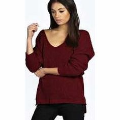 boohoo Sasha Oversized V Neck Jumper - wine azz22128 Go back to nature with your knits this season and add animal motifs to your must-haves. When youre not wrapping up in woodland warmers, nod to chunky Nordic knits and polo neck jumpers in peppered mar http://www.comparestoreprices.co.uk/womens-clothes/boohoo-sasha-oversized-v-neck-jumper--wine-azz22128.asp