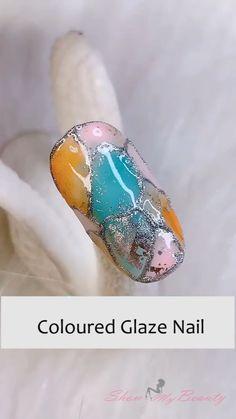 Nail Art Blog, Nail Art Hacks, Gel Nail Art, Nail Art Diy, Easy Nail Art, Simple Nail Art Videos, Nail Art Designs Videos, Pretty Nail Art, Cute Nail Art