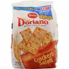 CRACKERS SALATI DORIANO DORIA GR. 750