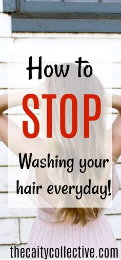 Second day hair | how to stop washing your hair |