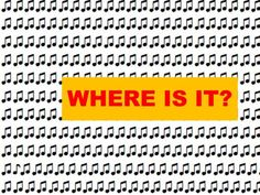 When Did You Spot It?