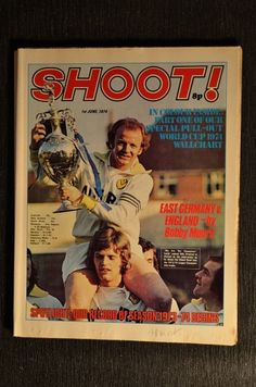 ... The post 1974 06 01 Shoot Magazine appeared first on Football InPrint. Leeds United Fc, Vintage Football, Magazine Articles, Magazines, The Unit, Baseball Cards, History, Journals, Historia