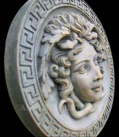 Medusa plaque from AncientSculptures.net