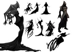 silhouette character design - Google Search 2014