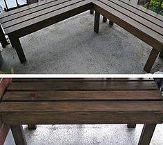 Diy Outdoor Benches