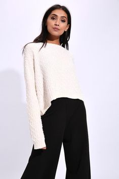 96562beef5d Champagne Chenille Jumper