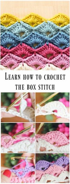 Learn How To Crochet The Box Stitch