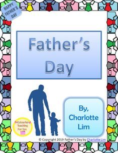 This package contains four different items because many children tend to have a variety of strong male figures in their lives that should be acknowledged on this special day. I have incorporated… Holiday Activities, Summer Activities, Literacy Activities, Fathers Day Cards, It Goes On, Teacher Resources, Primary Resources, Kids And Parenting, Report Cards