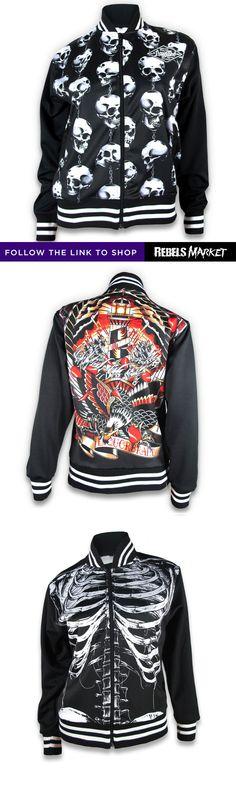 Shop women's bomber jackets online at RebelsMarket.