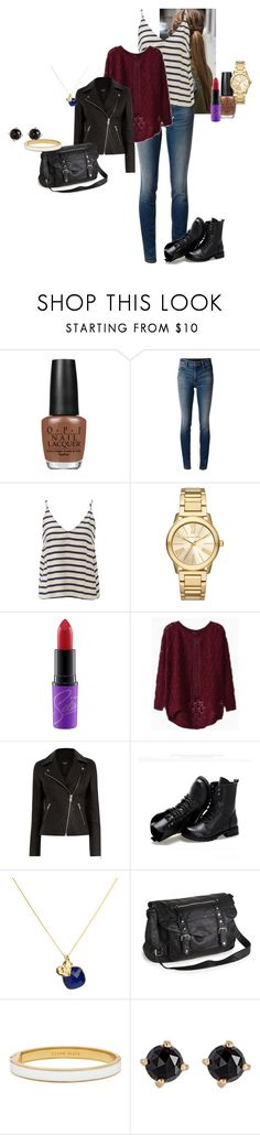"""""""Roxanne """"Rox"""" Lara Walsh - Comme sa mère (S02E03)"""" by katlayden ❤ liked on Polyvore featuring OPI, Alexander Wang, Astr, Michael Kors, Sunsteps, Elizabeth Raine, Aéropostale, Kate Spade and Irene Neuwirth"""