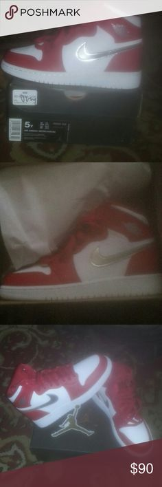 AIR JORDAN 1 RETRO HIGH BG Brand New pair never worn or tried on  sneakers Jordan Shoes Sneakers