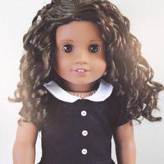 Brooke. It's Tuesday. The weekend is slowly approaching. #agig #americangirldoll #etsy4agig #alexandradperreault #americangirlbrand #dollstagram #dollphotography #人形 #人形の写真 #poupée