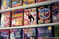 Cereal Killer Cafe provides endless breakfast combinations   Homegirl London - cereal killer cafe selection of cereals