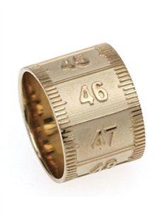 Miss Bibi - Tape Measure Ring