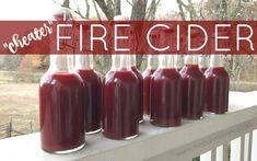 """Cheater"" Fire Cider Recipe - The Paleo Mama Elderberry Recipes, Elderberry Syrup, Cold Remedies, Herbal Remedies, Natural Remedies, Holistic Remedies, Health Remedies, Natural Medicine, Herbal Medicine"
