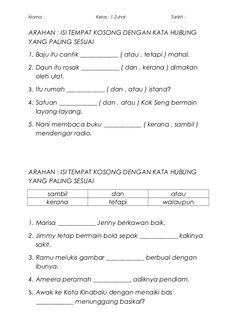 30 Latih Tubi Bm Ideas Malay Language Education Study Materials