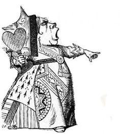 alice in wonderland red queen illustration에 대한 이미지 검색결과