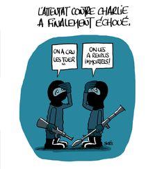Hommage à Charlie Hebdo. #jesuischarlie #CharlieHebdo - Que pensez-vous de notre Pinterest ?  http://studiocigale.fr/contact/