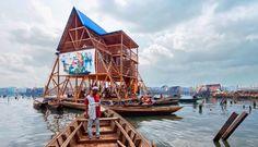 ARQUITETANDO IDEIAS: Escola flutuante em favela nigeriana -Design of th...
