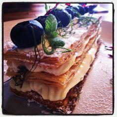 Vanilla Millie Feuille, Cafe Le Flaneur, Kew, Melbourne, Australia.