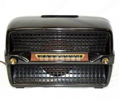 Classic Philco Transitone Model 49-505 Tube Radio Bakelite WORKS! Free Shipping!